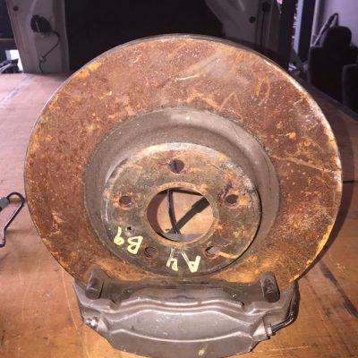 Audi A4 B9 4 Pot Caliper and Rotor (Front Only)