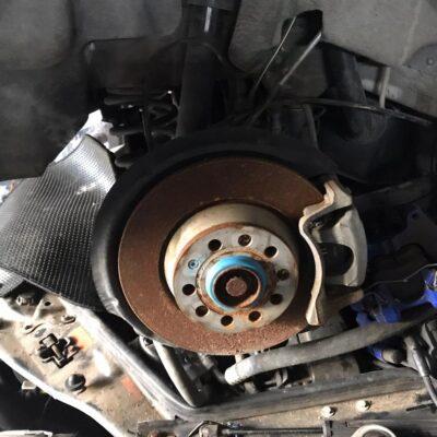 Audi A3 Rear Cut