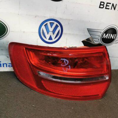 Audi A3 Left Tail Light (No Warranty)